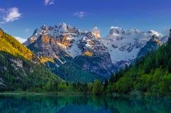 Overvieuw della montagna Fotografie Stock