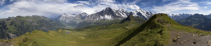 Overvieuw della montagna Fotografia Stock