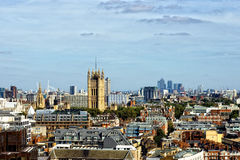 Overview. Of london, capital of Uk stock photos