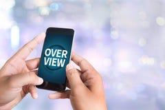 overview photographie stock libre de droits