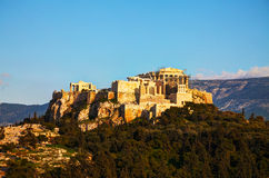 Overview of Acropolis in Athens, Greece Stock Photography