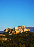 Overview of Acropolis in Athens, Greece Stock Photo