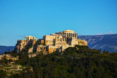 Overview of Acropolis in Athens, Greece Royalty Free Stock Image