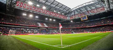 Overview Amsterdam ArenA During Ajax football match royalty free stock photography