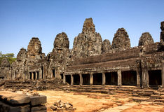 Overview Angkor Thom Royalty Free Stock Photography