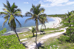 Overview of Bahia Honda Key - 4 Stock Photo