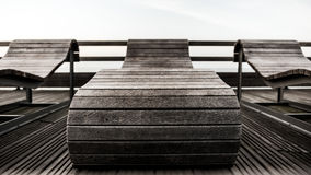 Overview of a bench Royalty Free Stock Images