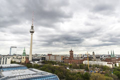 Overview of Berlin, Germany Stock Image