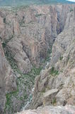 Overview of Black Canyon of the Gunnison. Overview of the Black Canyon of the Gunnison, Colorado Royalty Free Stock Image