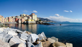 Overview of Boccadasse Stock Photo