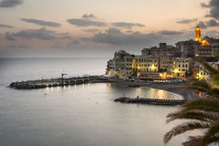 Overview of Bogliasco after Stock Photos