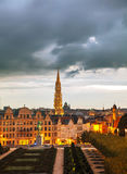 Overview of Brussels, Belgium Royalty Free Stock Photos
