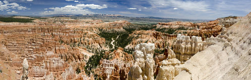 Overview of Bryce Canyon Stock Images