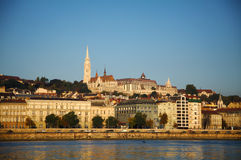 Overview of Budapest in the morning Stock Photography
