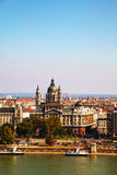 Overview of Budapest Royalty Free Stock Photos