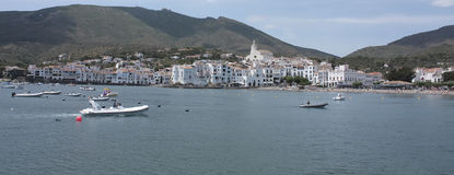 Overview Cadaques Stock Photos