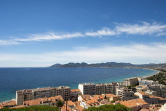 Overview of Cannes, France Royalty Free Stock Image