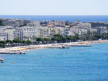 Overview of Cannes, France Royalty Free Stock Images