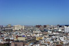 An overview of the city of Atlantic City Stock Photos