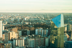 Overview of the city of Milan Stock Image