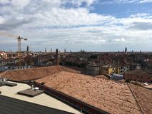 Roofs of Venice royalty free stock image