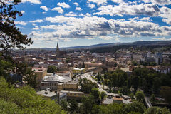 Overview of Cluj-Napoca Stock Image