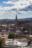 Overview of Cluj-Napoca Stock Photography