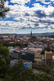 Overview of Cluj-Napoca Royalty Free Stock Images