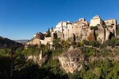 Overview of Cuenca in Castilla-La Mancha, Spain Royalty Free Stock Image