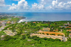 Overview of Dakar from the observation deck Royalty Free Stock Photography
