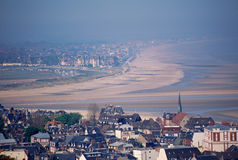 Overview of Deauville and Trouville Stock Images