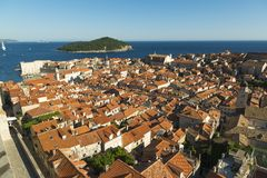 Overview of dubrovnik Stock Photos