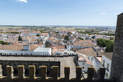 Overview of Evora Royalty Free Stock Photography