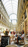 Overview of the Galleries Umberto I, Naples Stock Photo