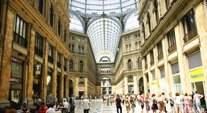 Overview of Galleries Umberto I Stock Photography