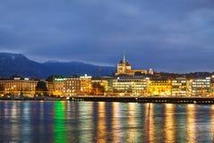 Overview of Geneva, Switzerland Royalty Free Stock Images