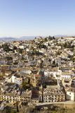Overview of Granada Royalty Free Stock Image