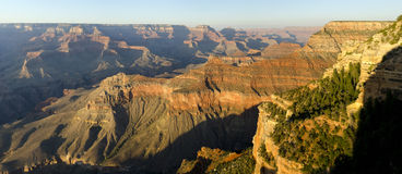 Overview of the Grand Canyon Stock Photos