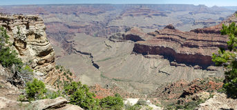 Overview of the Grand Canyon Stock Photography