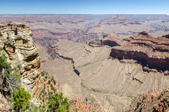 Overview in the Grand Canyon Stock Image