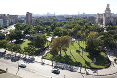 Overview of Havana, Cuba Stock Image