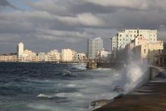 Overview of Havana, Cuba. Havana, Cuba, near the ocean, sea royalty free stock images
