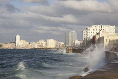 Overview of Havana, Cuba. Havana, Cuba, near the ocean, sea stock images