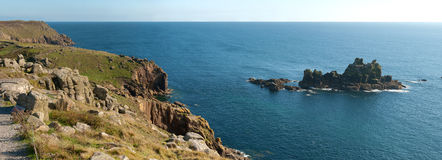Overview In Cornwall Stock Images