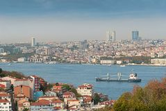 Overview Istambul Royalty Free Stock Photos