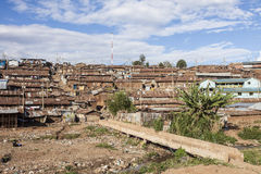 Overview of Kibera, Kenya Stock Image