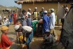 Rohingya refugees in Bangladesh Royalty Free Stock Images
