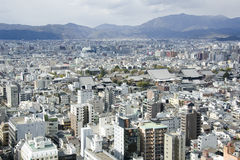 Overview on Kyoto city Stock Images