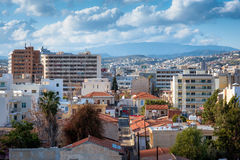 Overview of Limassol town. Cyprus Royalty Free Stock Images