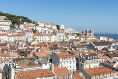 Overview of Lisbon, Portugal Stock Images